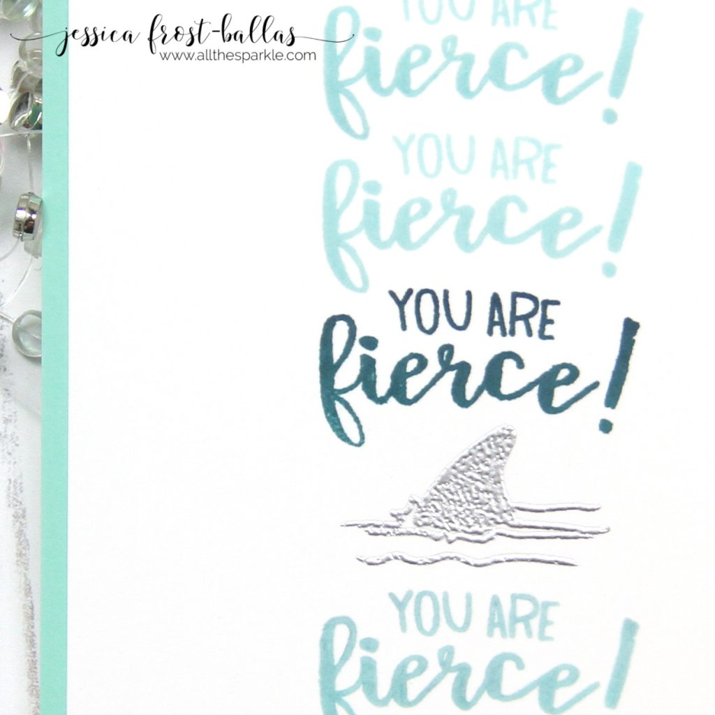 You Are Fierce by Jessica Frost-Ballas for Hero Arts