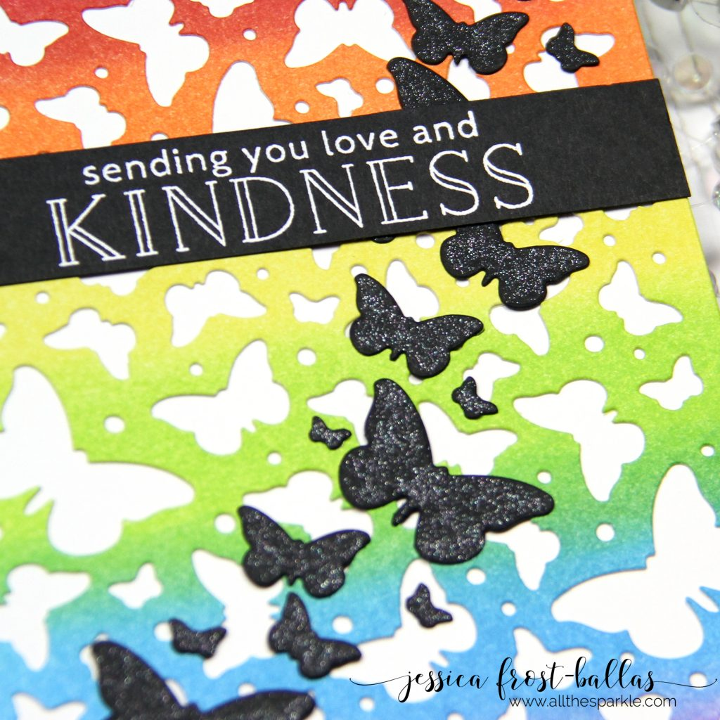 Sending You Love and Kindness by Jessica Frost-Ballas for Hero Arts