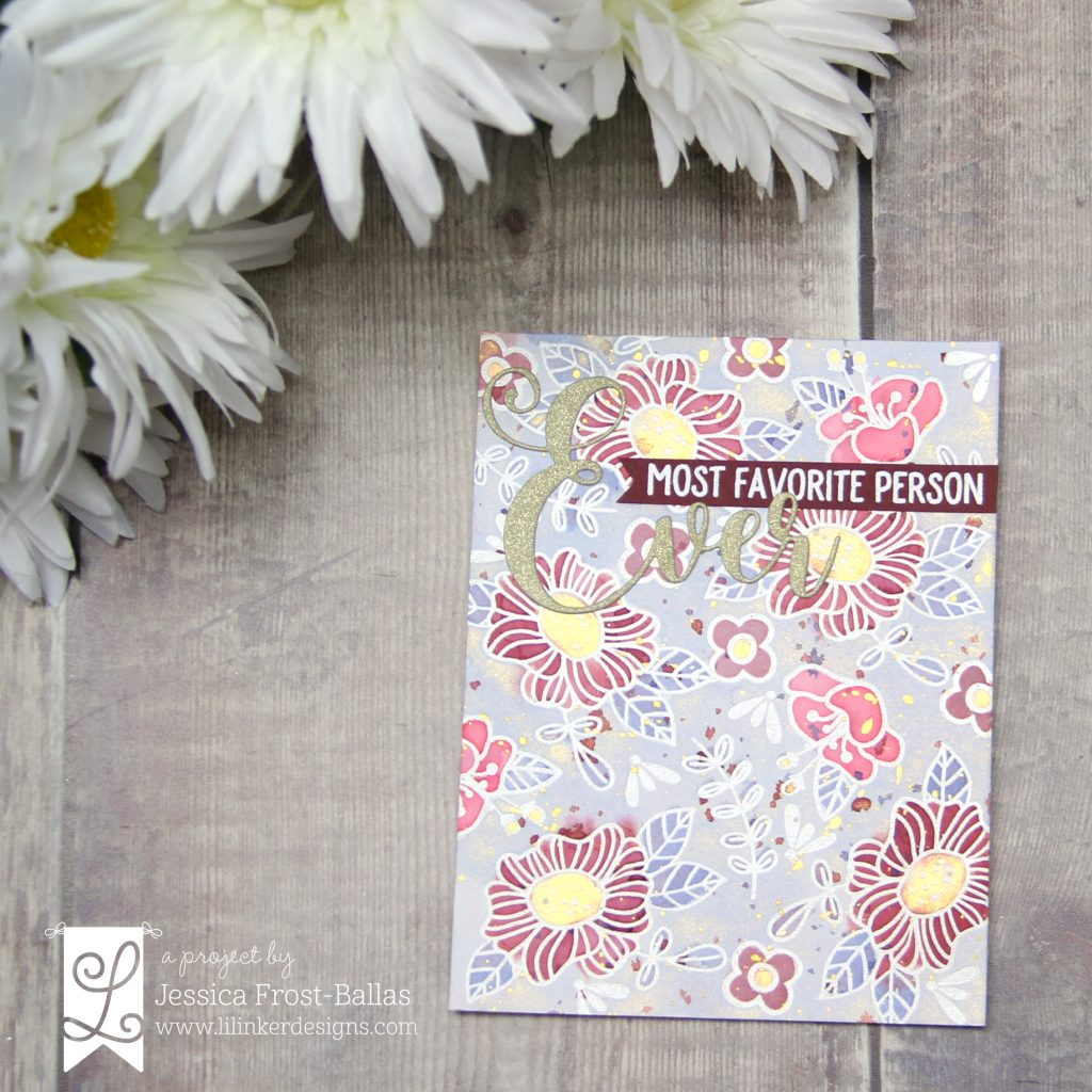 Most Favorite Person Ever by Jessica Frost-Ballas for Lil' Inker Designs