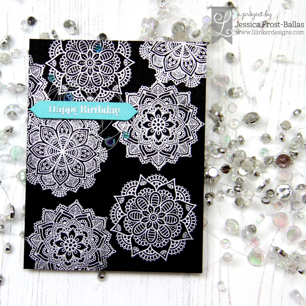 Modern Mandalas by Jessica Frost-Ballas for Lil' Inker Designs