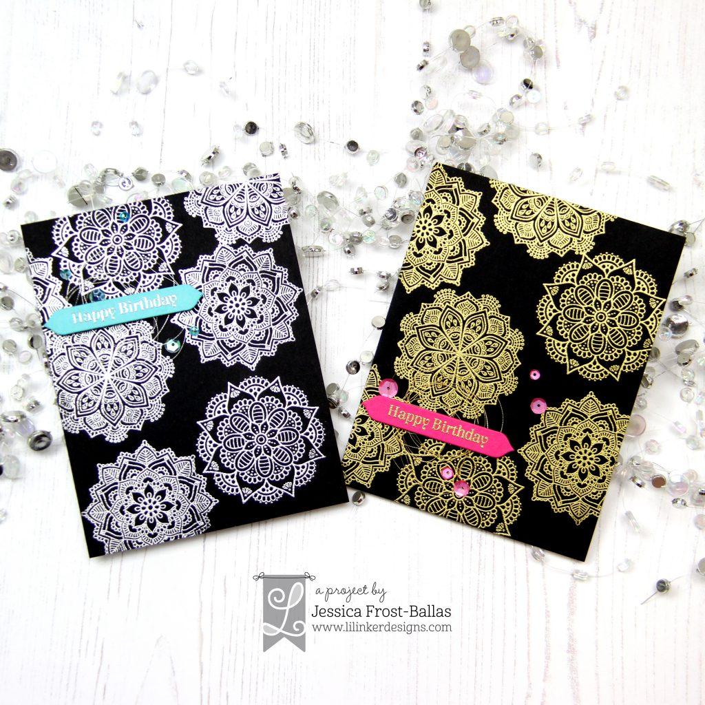 Modern Mandalas by Jessica Frost-Ballas for Lil' Inker Designs