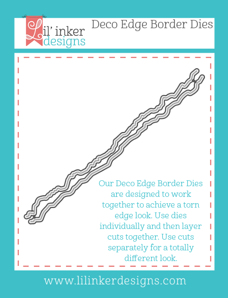 Lil' Inker Designs Deco Edge Border Dies