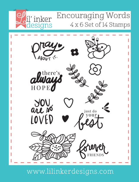 Lil' Inker Designs Encouraging Words Stamps