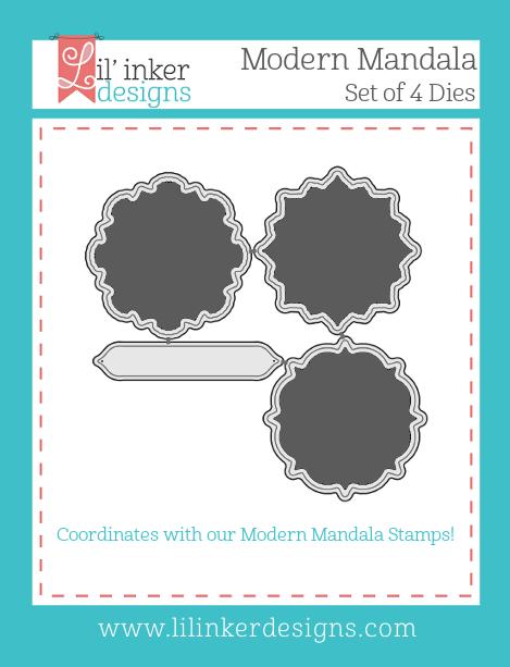 Lil' Inker Designs Modern Mandalas Dies