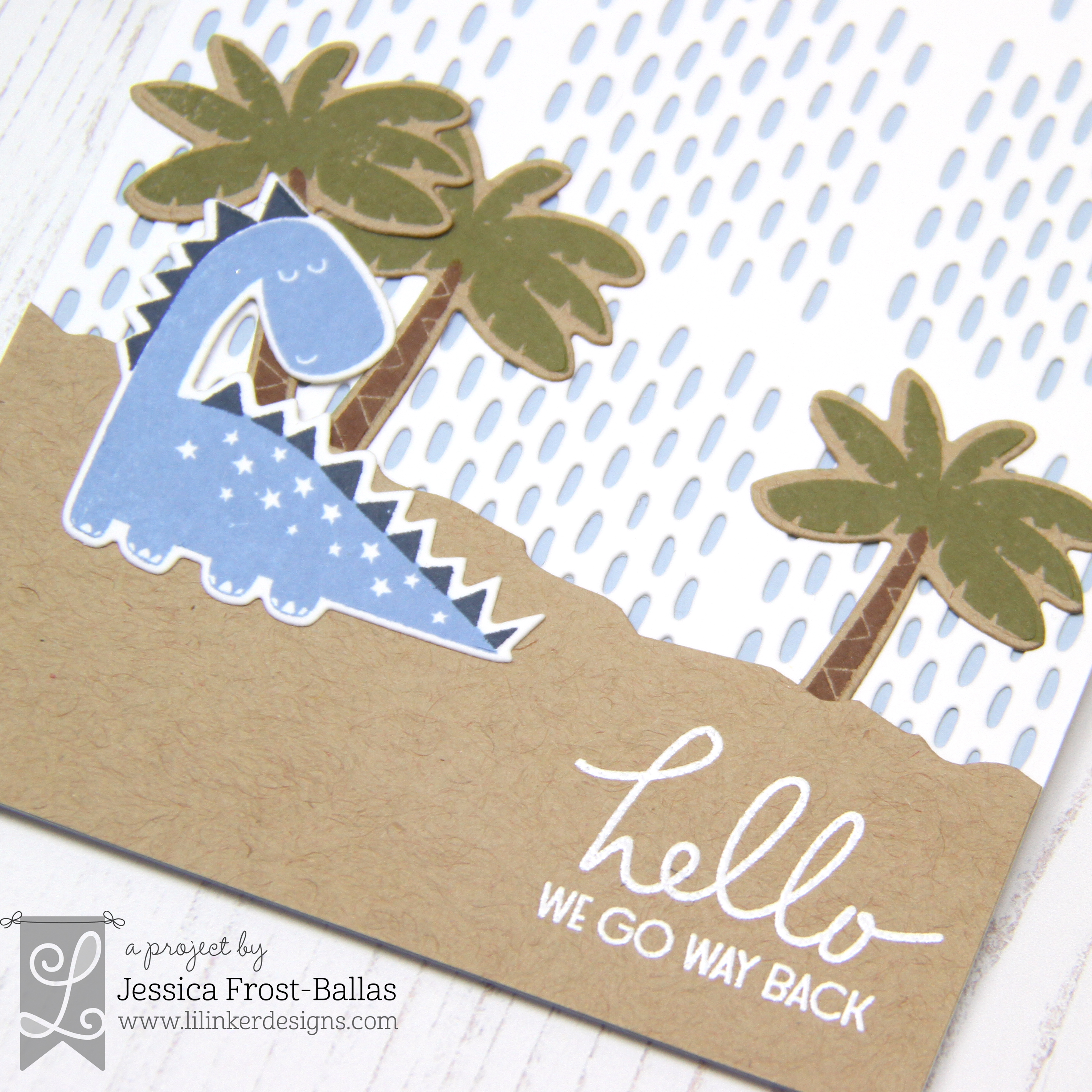 Hello We Go Way Back by Jessica Frost-Ballas for Lil' Inker Designs