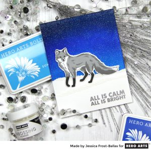 All is Calm by Jessica Frost-Ballas for Hero Arts