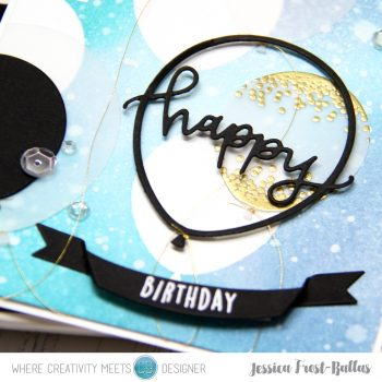 Happy Birthday by Jessica Frost-Ballas for Where Creativity Meets C9