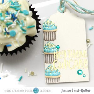 Hey There Cupcake by Jessica Frost-Ballas for Where Creativity Meets C9