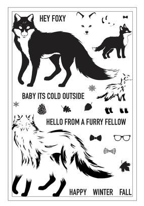 Hero Arts Color Layering Fox