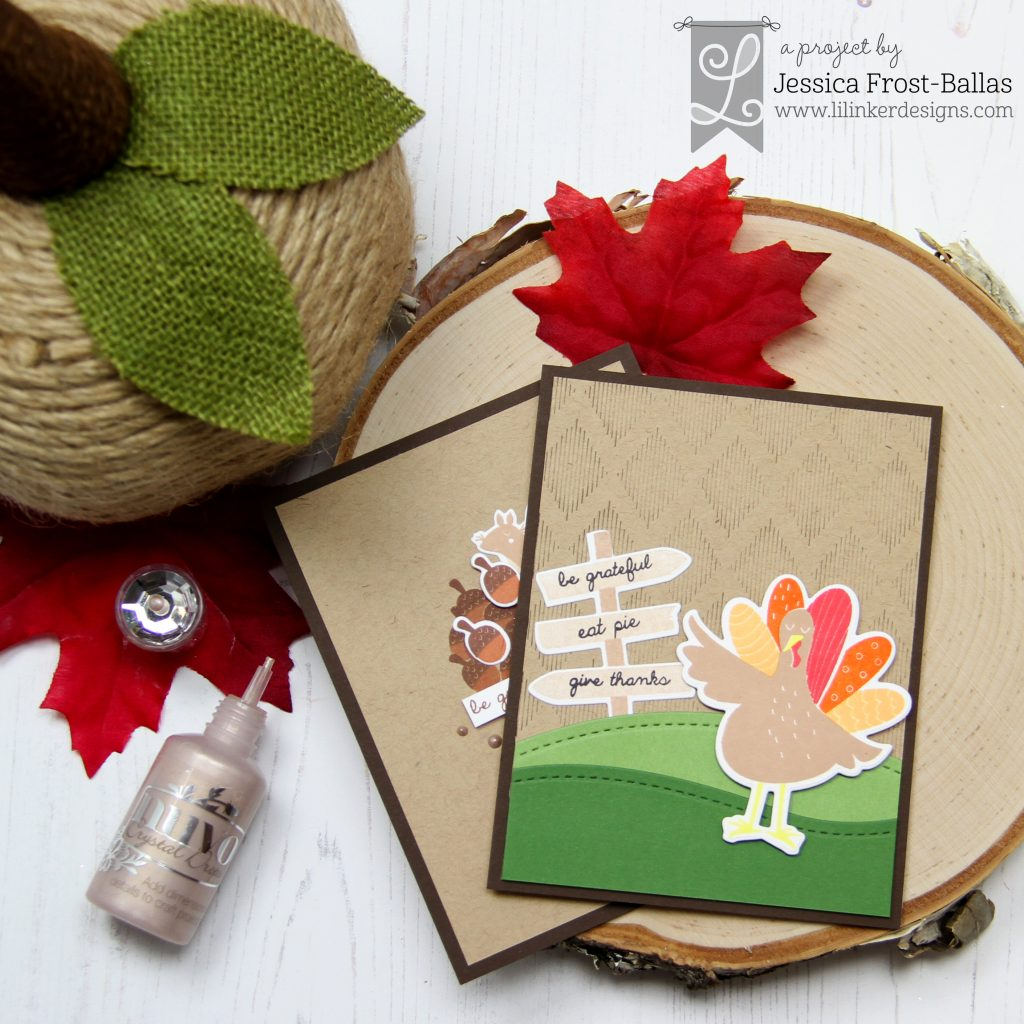 Be Grateful by Jessica Frost-Ballas for Lil' Inker Designs