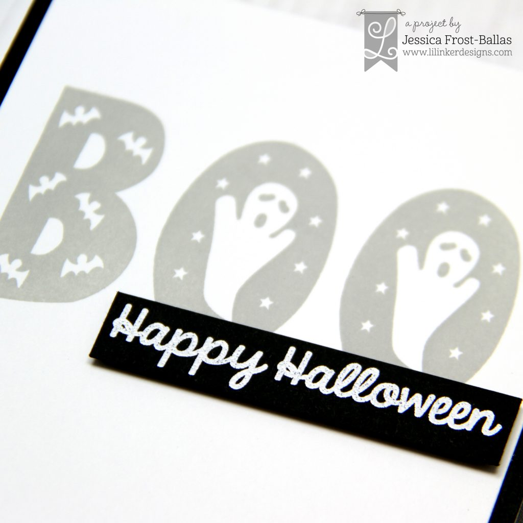 Happy Halloween by Jessica Frost-Ballas for Lil' Inker Designs