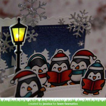 Lawn Fawnatics: It's Penguining To Look A Lot Like Christmas