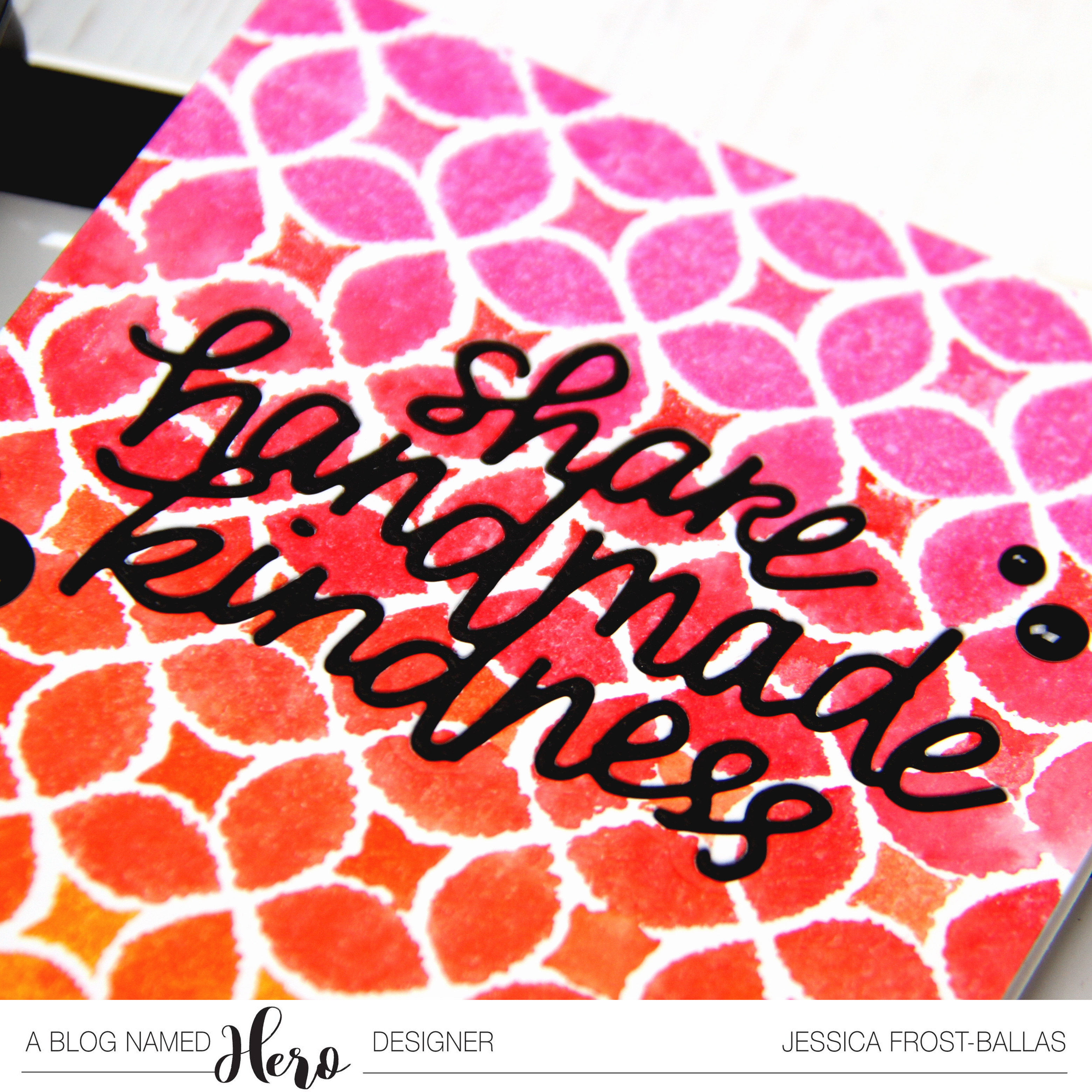 Share Handmade Kindness by Jessica Frost-Ballas for A Blog Named Hero