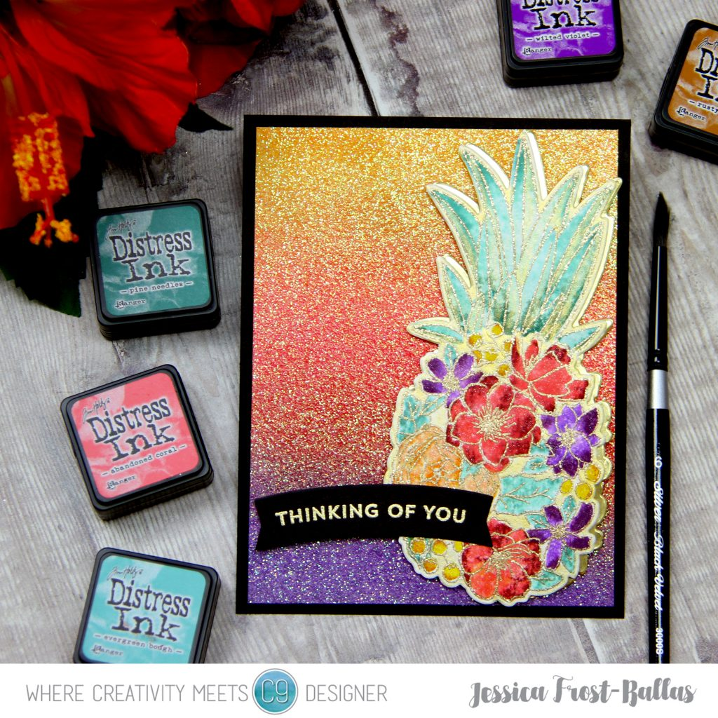Thinking of You by Jessica Frost-Ballas for Where Creativity Meets C9