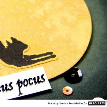 Hocus Pocus Kitty by Jessica Frost-Ballas for Hero Arts