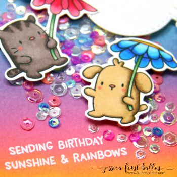 Stamptember Mama Elephant Exclusive: Rain or Shine