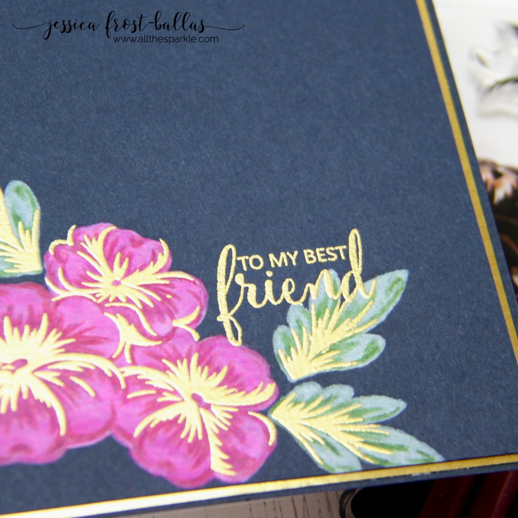 To My Best Friend by Jessica Frost-Ballas for Simon Says Stamp