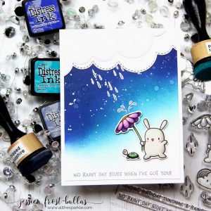 No Rainy Day Blues When I've Got You by Jessica Frost-Ballas for Simon Says Stamp