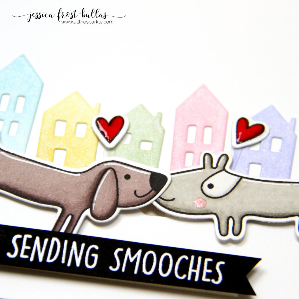 Sending Smooches by Jessica Frost-Ballas for Ellen Hutson