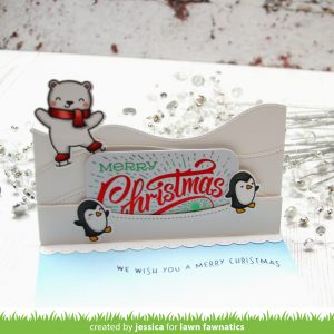 Gift Card Holder by Jessica Frost-Ballas for Lawn Fawnatics