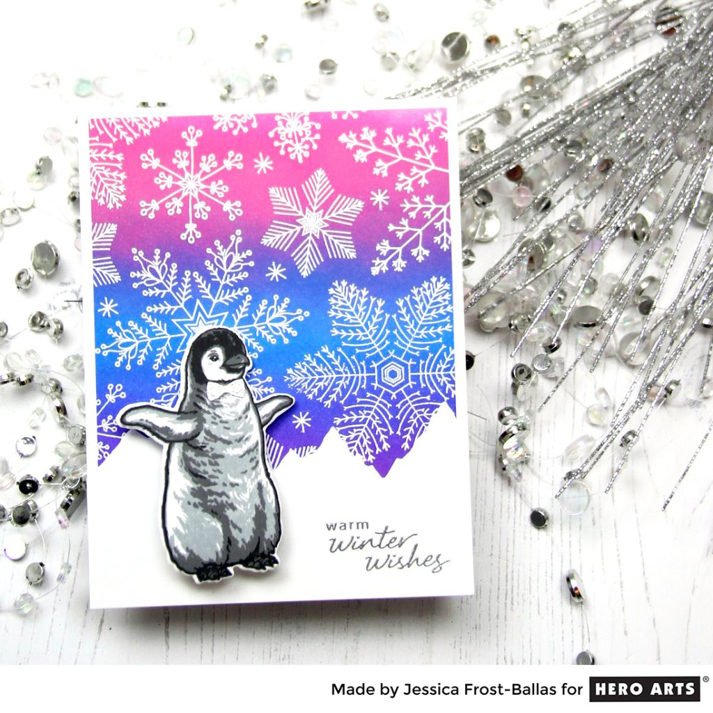 Sending Winter Wishes by Jessica Frost-Ballas for Hero Arts