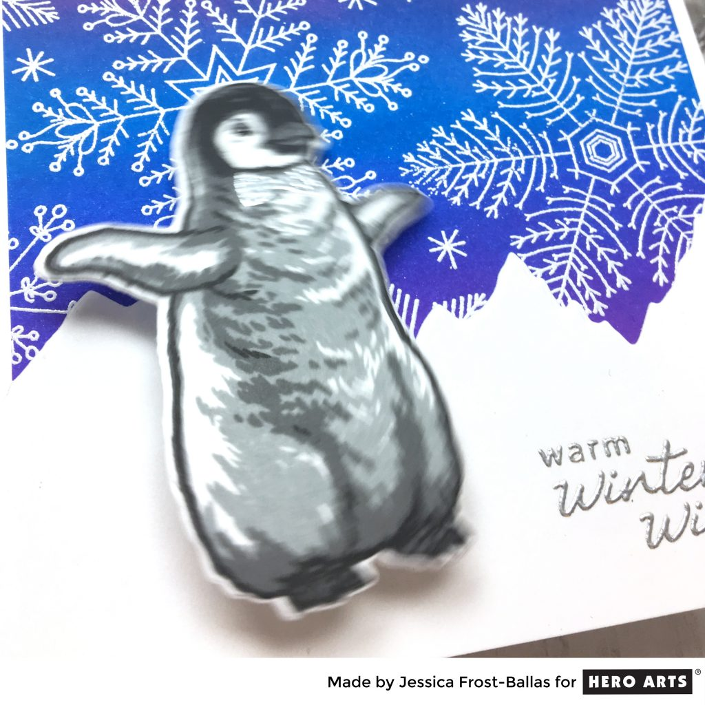 Warm Winter Wishes by Jessica Frost-Ballas for Hero Arts