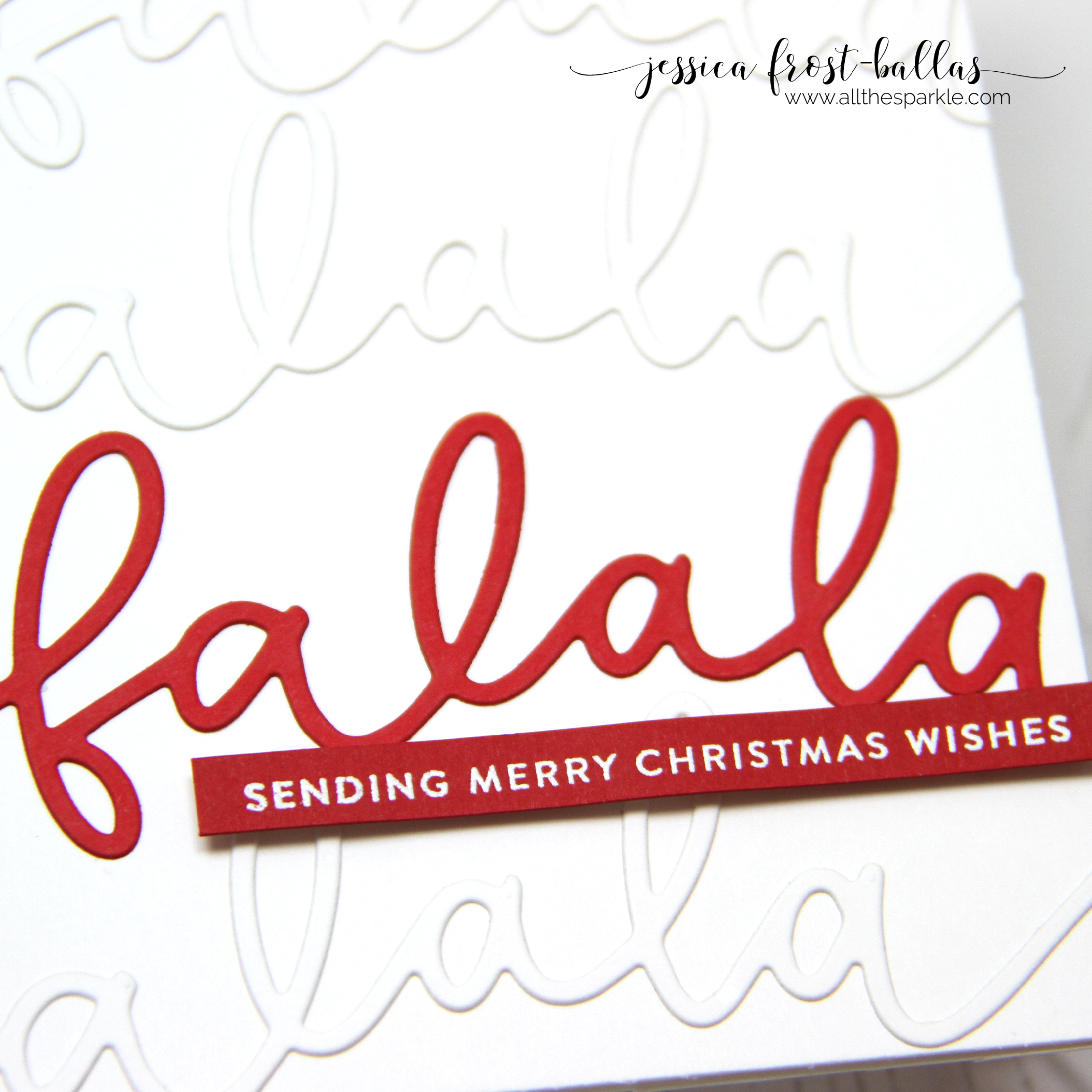 Fa La La by Jessica Frost-Ballas for Simon Says Stamp