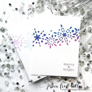 Merry and Bright by Jessica Frost-Ballas for Simon Says Stamp