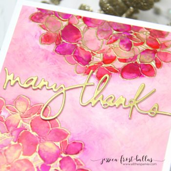 Many Thanks by Jessica Frost-Ballas for Ellen Hutson