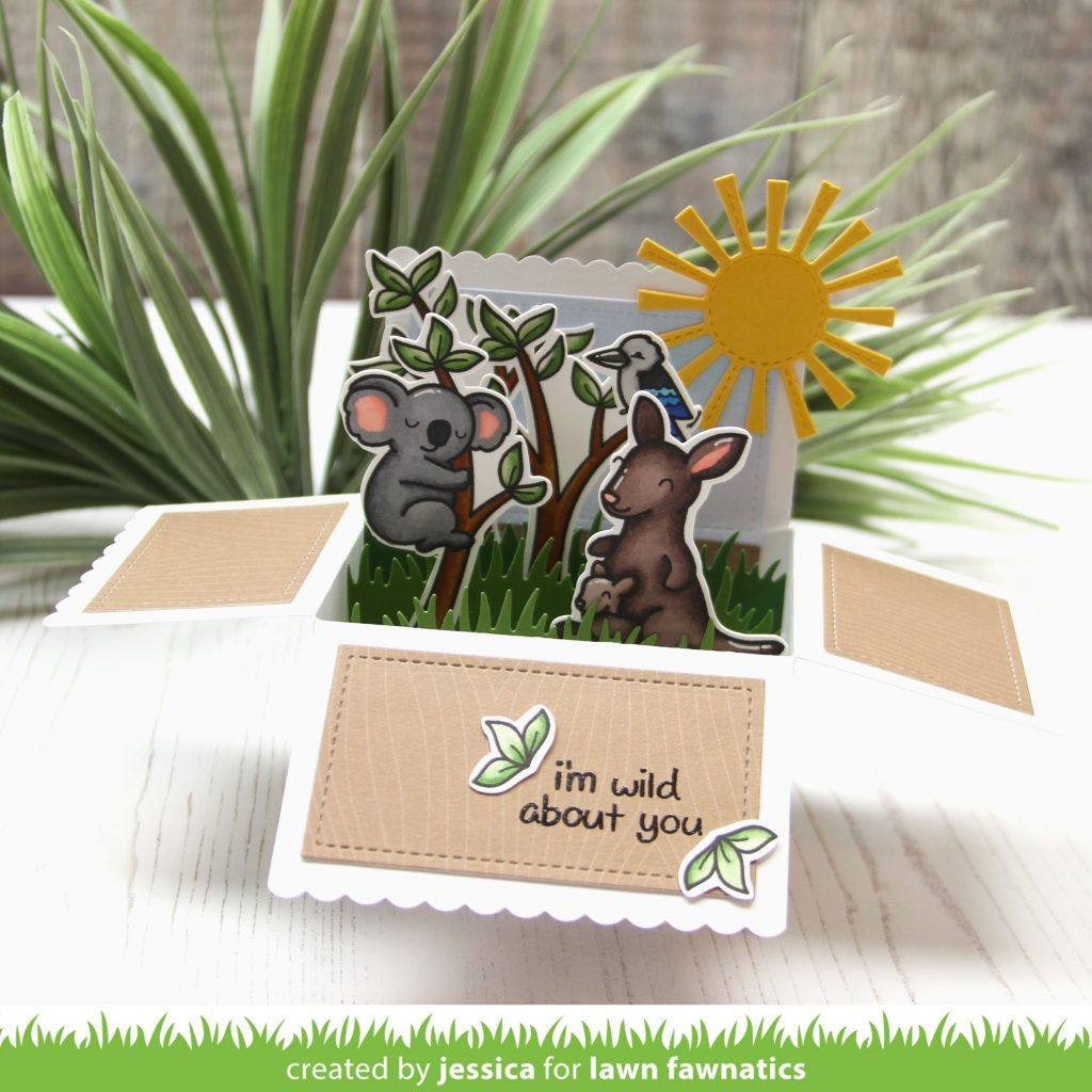 I'm Wild About You by Jessica Frost-Ballas for Lawn Fawnatics