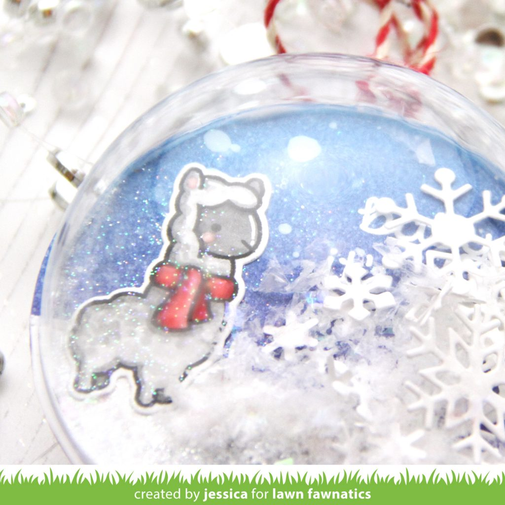 Baby It's Cold Outside by Jessica Frost-Ballas for Lawn Fawnatics