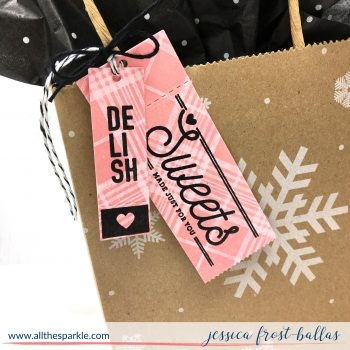 Delish by Jessica Frost-Ballas for The Stamp Market