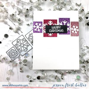 Happy Christmas by Jessica Frost-Ballas for Simon Says Stamp