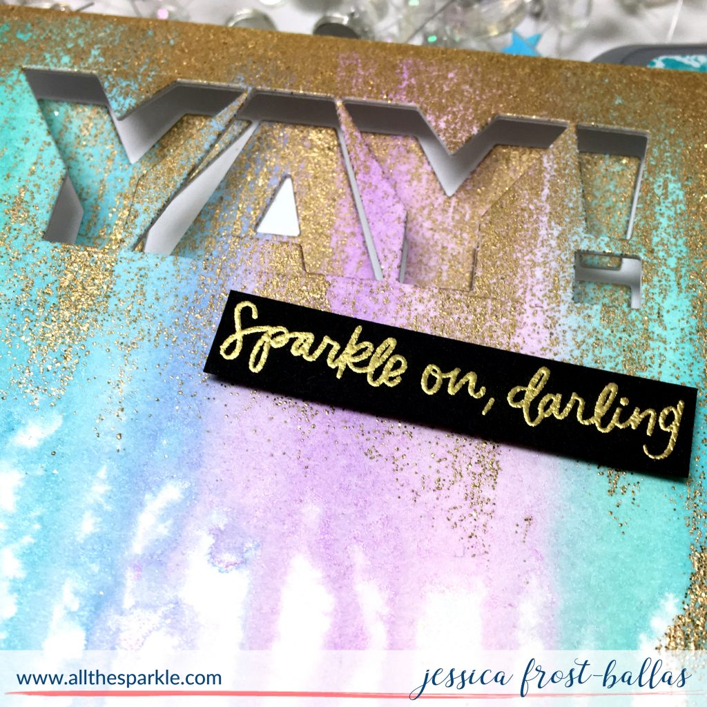 Yay Sparkle On Darling by Jessica Frost-Ballas for Ellen Hutson