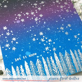 Let it Snow by Jessica Frost-Ballas for Flora and Fauna