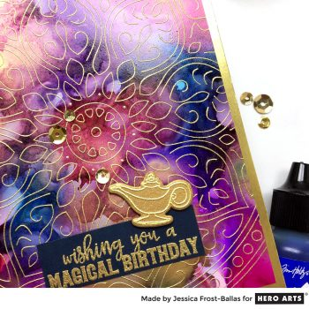 Wishing You a Magical Birthday by Jessica Frost-Ballas for Hero Arts