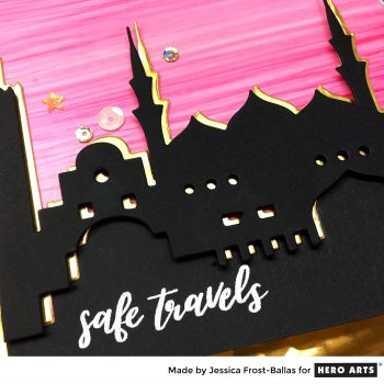 Safe Travels by Jessica Frost-Ballas for Hero Arts