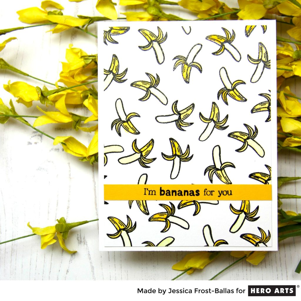 I'm Bananas for You by Jessica Frost-Ballas for Hero Arts