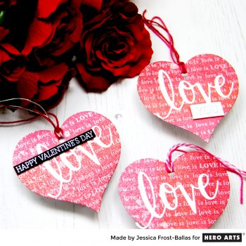 Love Tags by Jessica Frost-Ballas for Hero Arts