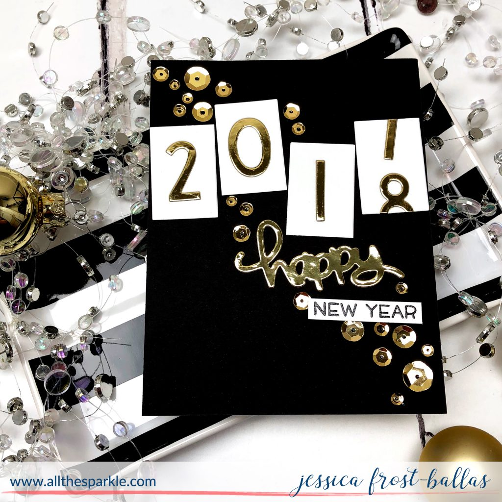 Happy New Year by Jessica Frost-Ballas