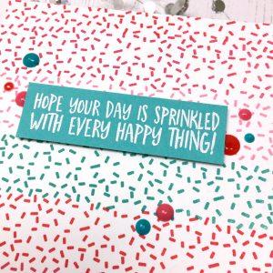 United We Flourish Sweet Sprinkles
