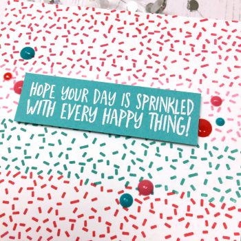 United We Flourish: Sweet Sprinkles Blog Hop (+GIVEAWAYS!)