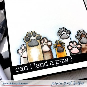 Can I Lend a Paw by Jessica Frost-Ballas for Simon Says Stamp