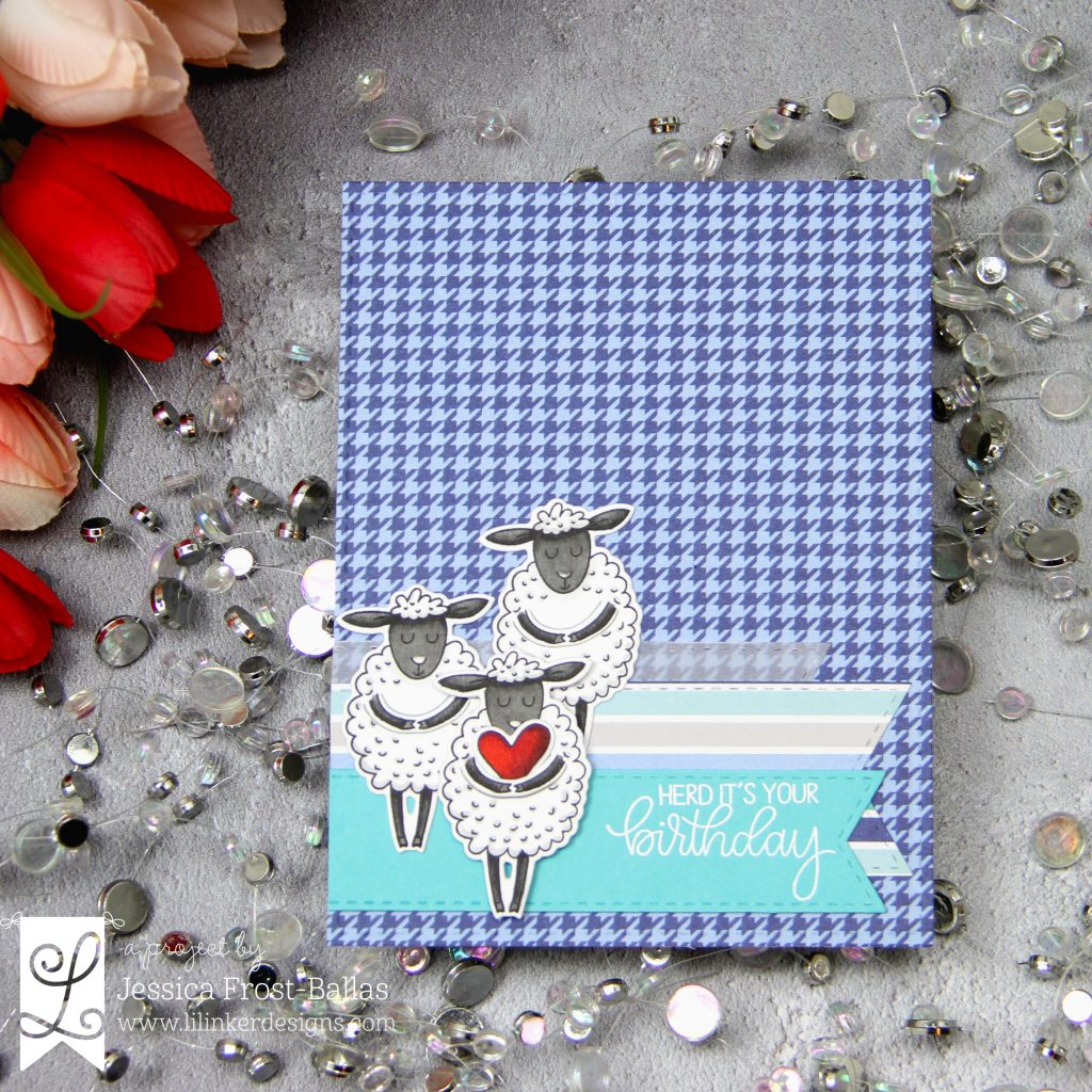 Herd It's Your Birthday by Jessica Frost-Ballas for Lil' Inker Designs