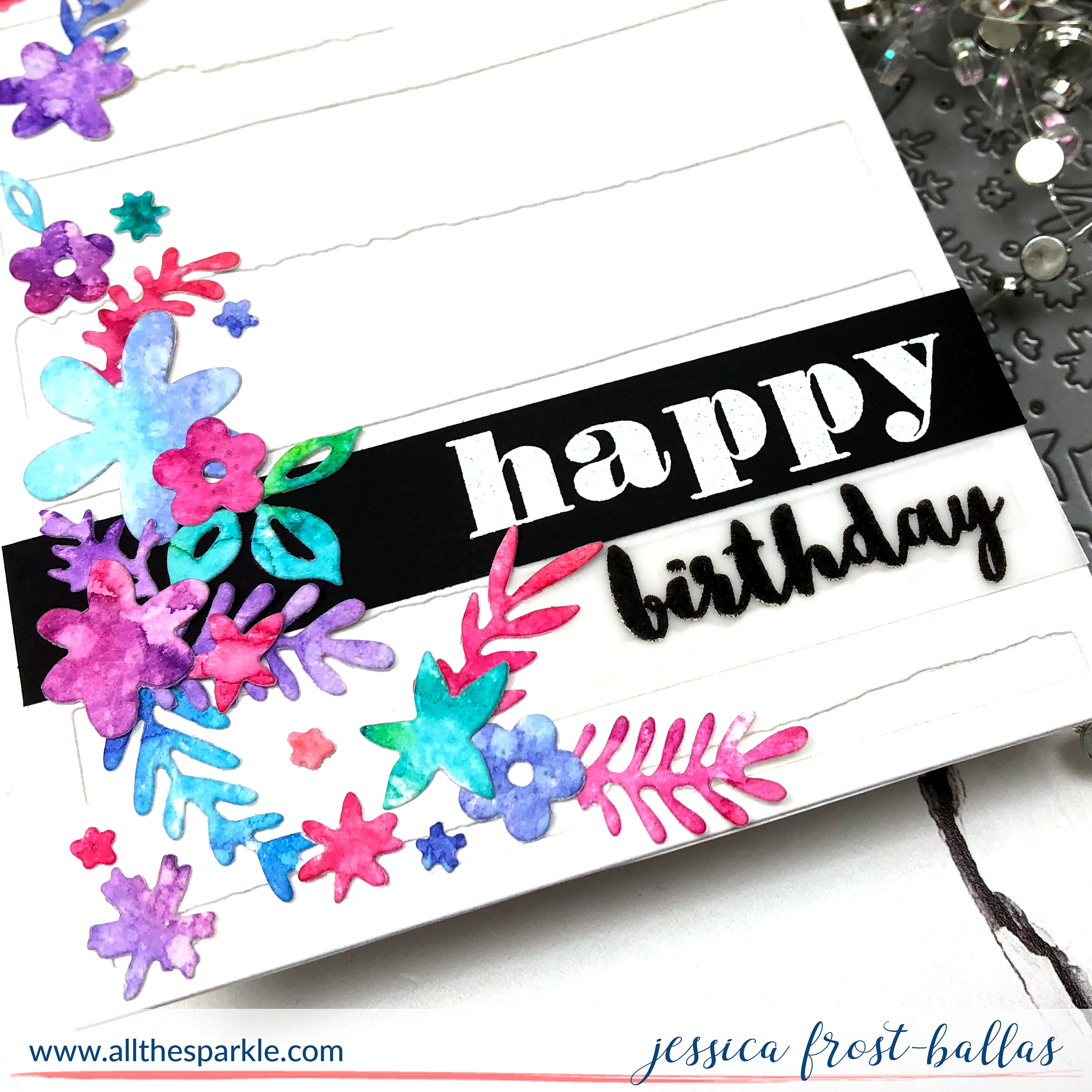 Happy Birthday by Jessica Frost-Ballas for Altenew
