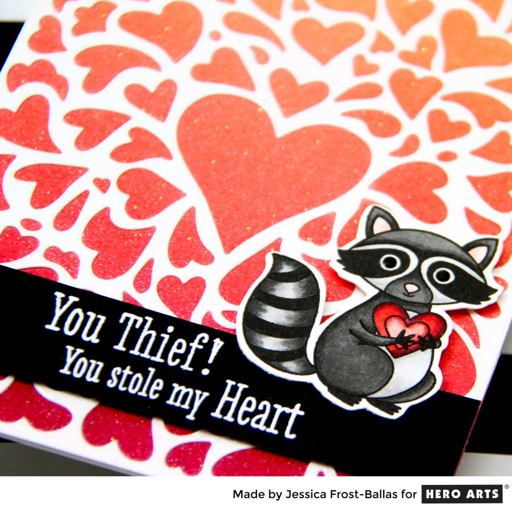 You Stole My Heart by Jessica Frost-Ballas for Hero Arts