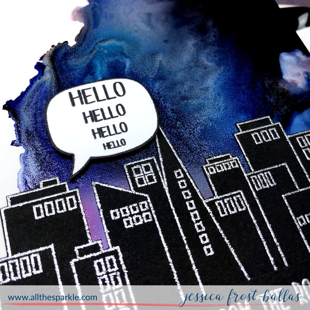 Hello Hello Hello by Jessica Frost-Ballas for Simon Says Stamp