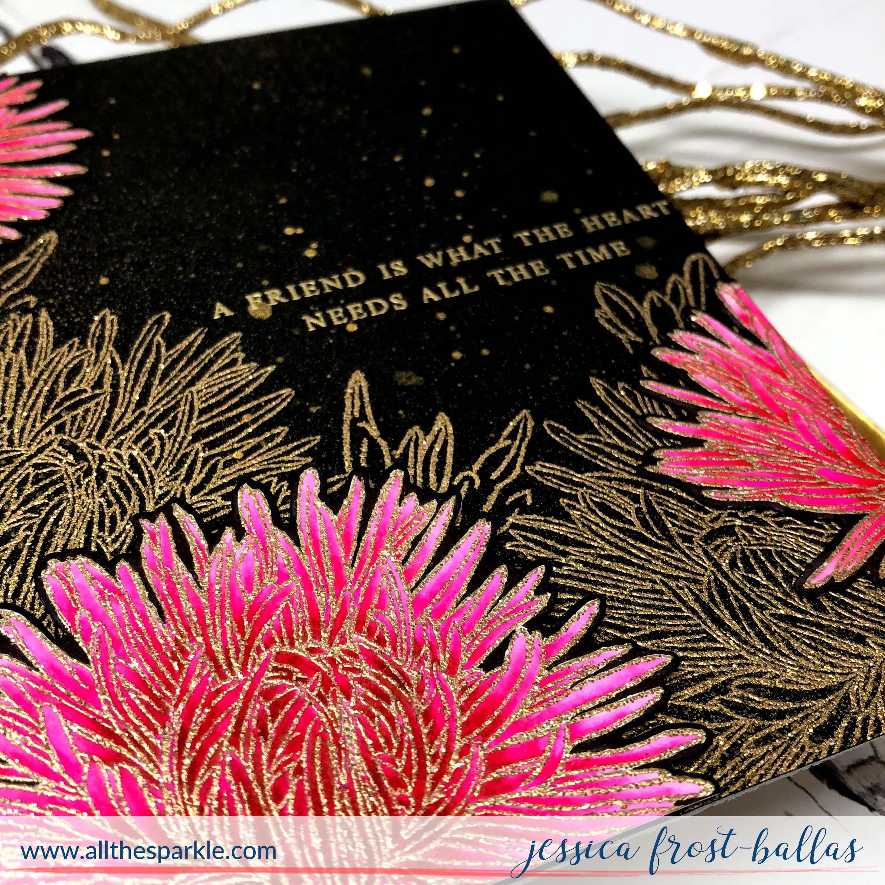 Build-A-Flower Aster by Jessica Frost-Ballas for Altenew