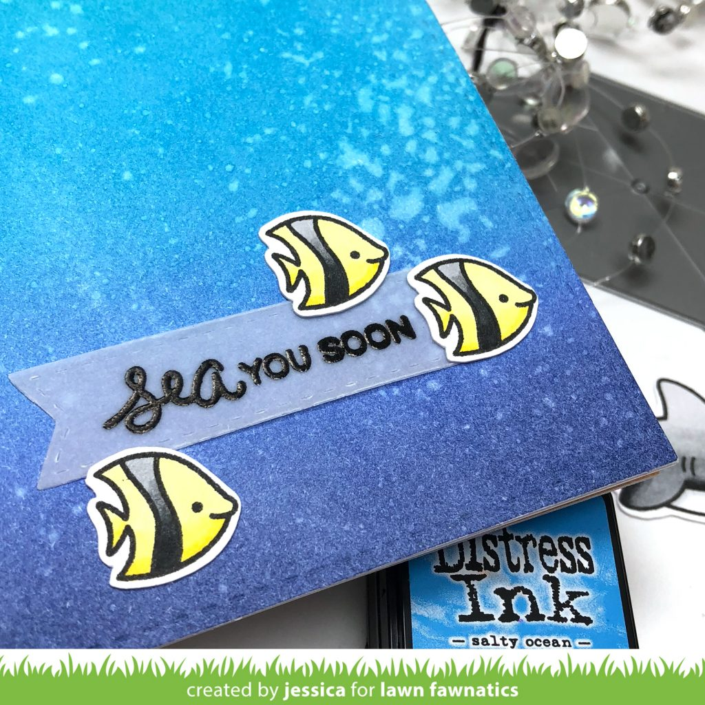 Sea You Soon by Jessica Frost-Ballas for Lawn Fawnatics