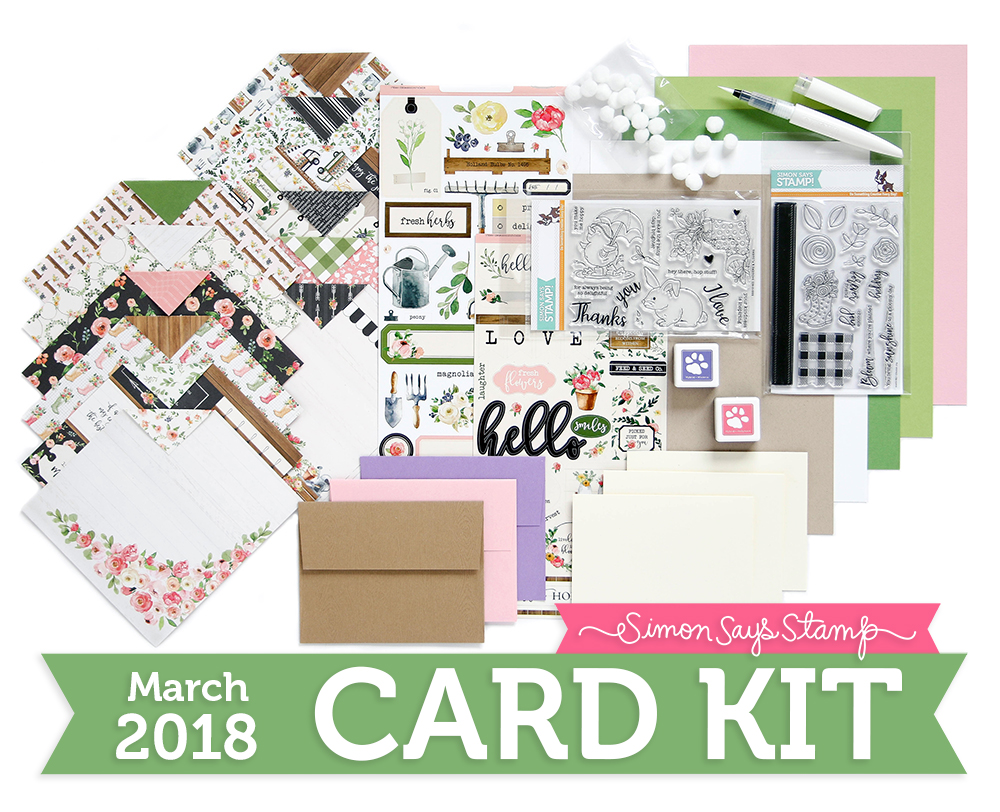 Choose Joy March 2018 Simon Says Stamp Card Kit